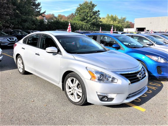 Nissan Altima 2013 SL/3,5 LITRES/CUIR/SIÈGES ÉLECTRIQUE/BLUETOOTH