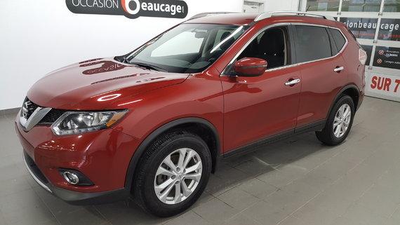 Nissan Rogue 2016 SV AWD, caméra recul, sièges chauffants,
