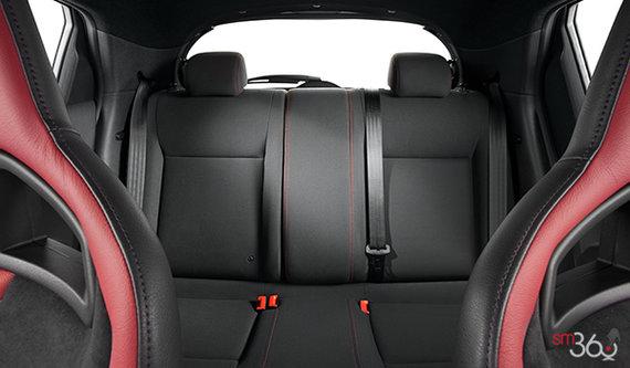 Recaro Black/Red Leather w/Smoked Grey Trim