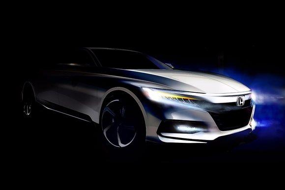 La Honda Accord 2018 entièrement redessinée arrive plus tard cette année
