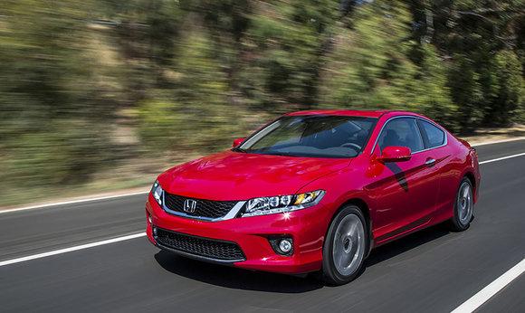 Les récompenses de la Honda Accord Coupé