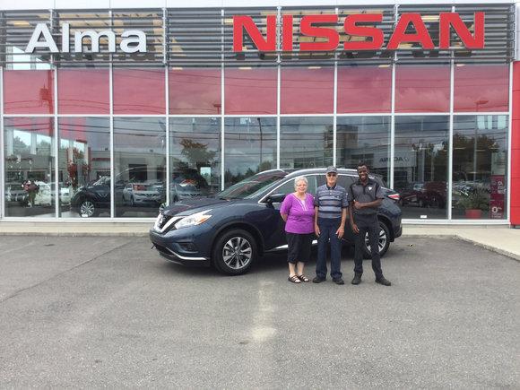 Fidèle client Alma Nissan!