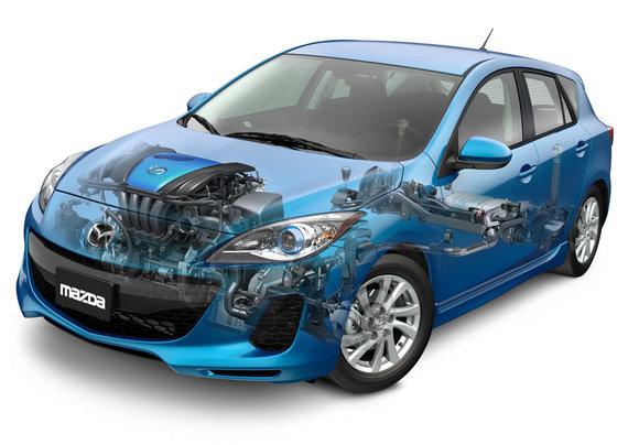 Mazda3 Skyactiv 2013 – La Mazda3 n'est plus une voiture assoiffée