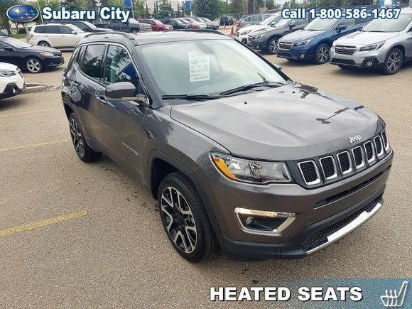 2018 Jeep Compass Limited,4X4,LEATHER,SUNROOF,NAVIGATION,AIR,TILT,CRUISE,PW,PL,BLUETOOTH,BACK UP CAMERA!!!!!