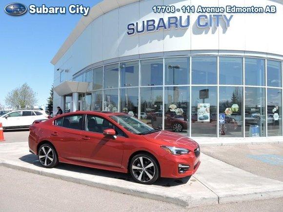 2017 Subaru Impreza 4dr Sdn CVT Sport-tech w/Tech Pkg