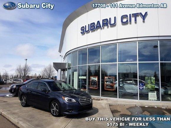 2015 Subaru Legacy 3.6R Limited w/Eyesight,LEATHER,SUNROOF,NAVIGATION,BLUETOOTH,BACK UP CAMERA,MUCH MORE!!!