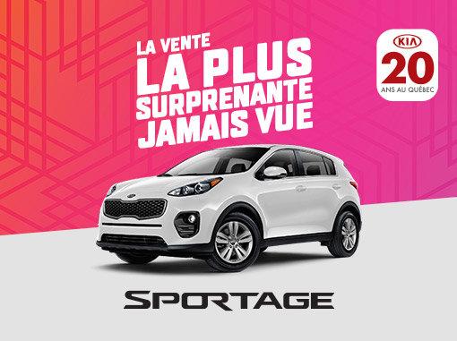 Kia Sportage neuf en promotion à Montréal