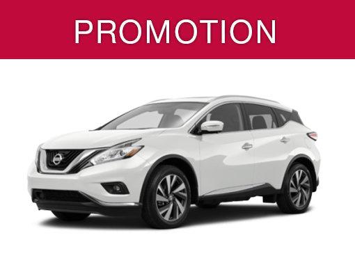 Nissan Murano neuf en promotion à Montréal