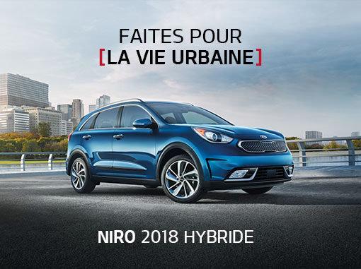 Kia Niro en promotion à Montréal