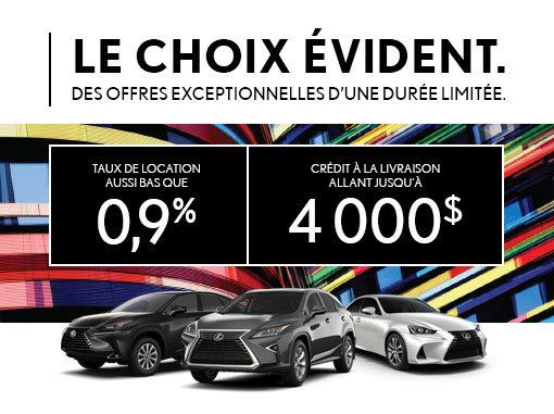 Lexus - Le Choix Évident
