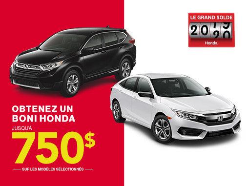 Le Grand Solde Honda