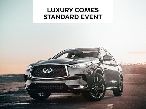 Infiniti Luxury Comes Standard Event