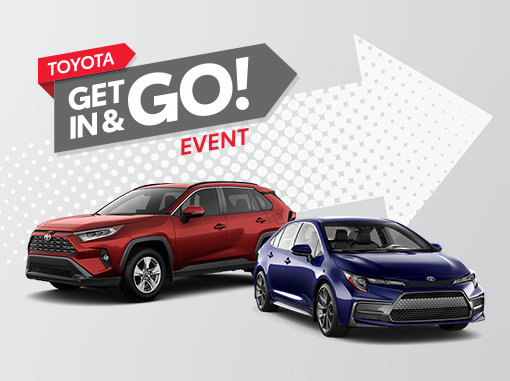 Toyota Get In and Go Event