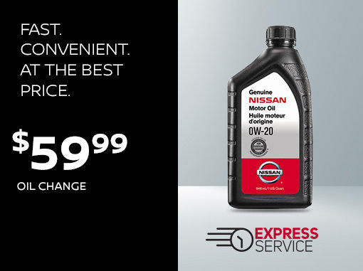 Take Advantage of Nissan's Express Service