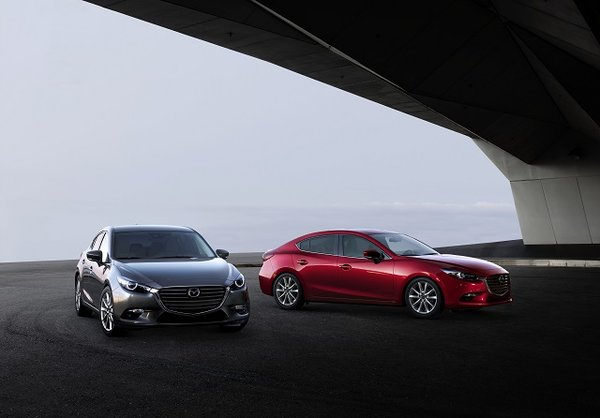 The new 2017 Mazda3 takes it one notch further