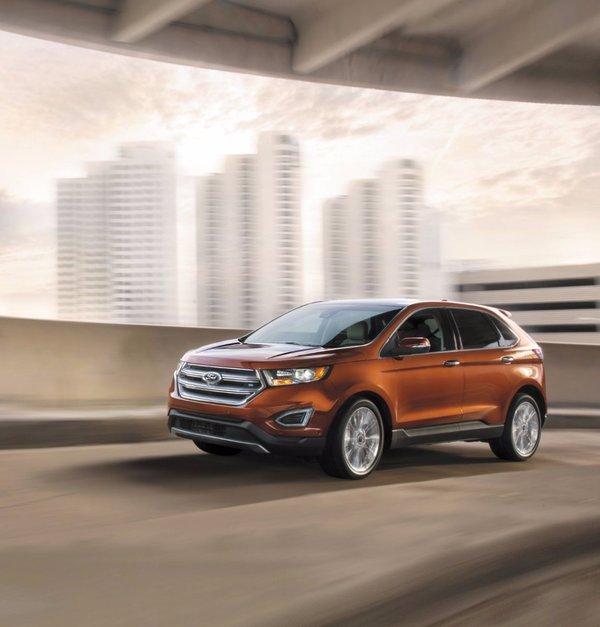 Choisir entre Ford Edge 2017, le Kia Sorento ou le Hyundai Santa Fe à Montréal