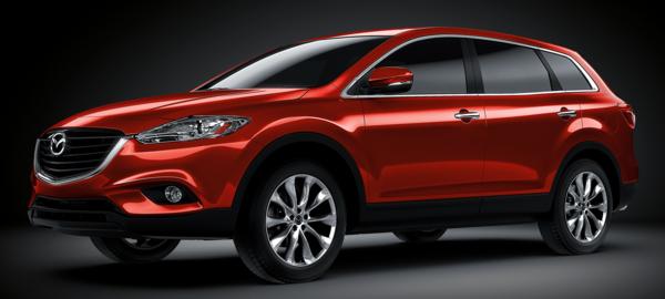 Mazda CX-9 2015 - Occuper la place de deux
