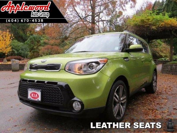 2015 Kia Soul SX  - Leather Seats - $148.87 B/W