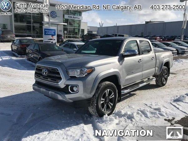 2017 Toyota Tacoma Limited  - Navigation -  Sunroof - $271.95 B/W