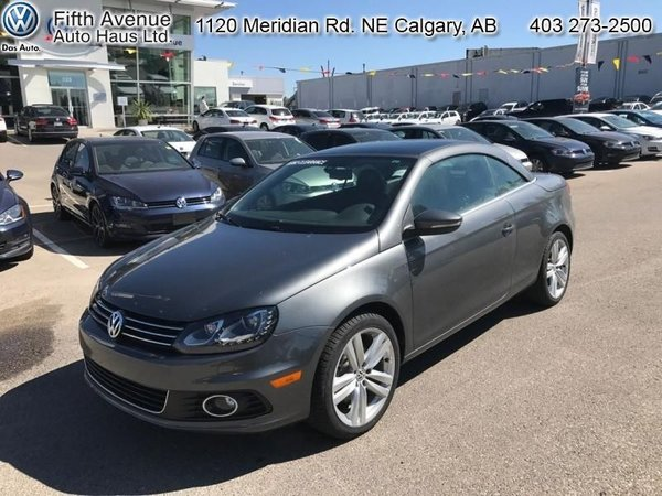 2014 Volkswagen Eos Highline  - Certified - Leather Seats - $270.57 B/W