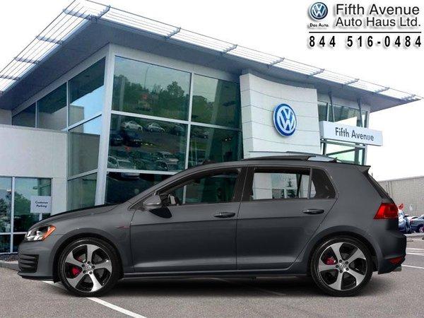 2015 Volkswagen Golf GTI 5-Door Autobahn  - Certified - $176.71 B/W