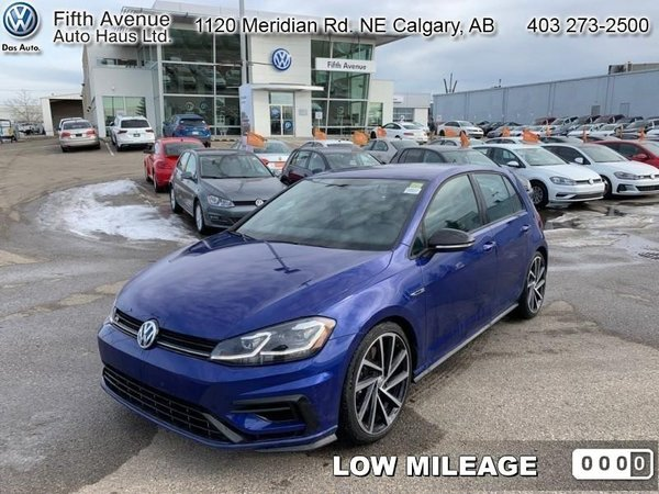2018 Volkswagen Golf R Base  - Certified - Navigation - $255.83 B/W