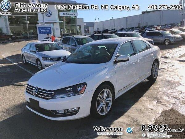 2015 Volkswagen Passat 2.0 TDI Highline  - Certified - $144.15 B/W