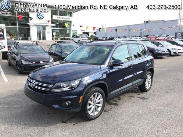2017 Volkswagen Tiguan Wolfsburg Edition  - Certified - $173.79 B/W