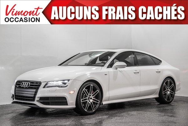 2014 Audi A7 2014+SLINE+NAV+CUIR+TOIT+CAMERA+SIEGES CHAUFFANTS