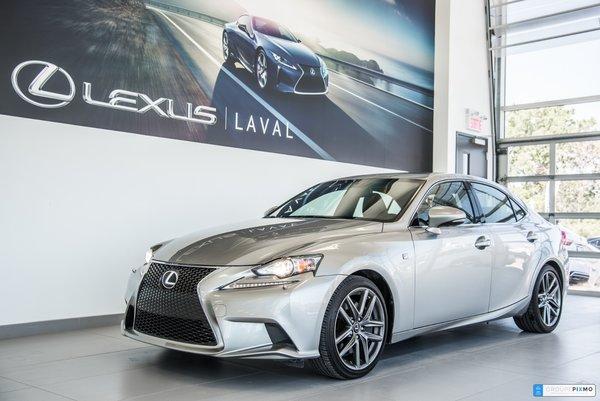Lexus IS 350 Taux à compter de 1.9% 2015