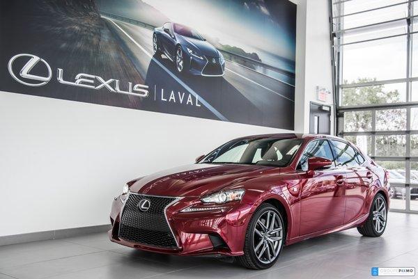 2015 Lexus IS 350 F-SPORT 3 NAVIGATION + CAMÉRA + CUIR