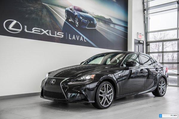 2016 Lexus IS 350 F-sport 3-GPS Taux a partir de 0.9%