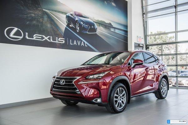 Lexus NX 200t Navigation-Taux a compter de 1.9% inclus 2015