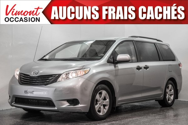 2011 Toyota Sienna 2011+CE+A/C+GR ELEC COMPLET+7 PASSAGERS