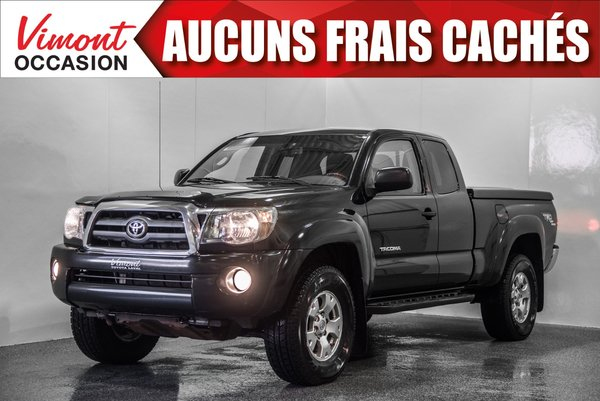Toyota Tacoma 2009+TRD+ACCESS CAB+MANUEL+A/C+COUVRE-CAISSE 2009