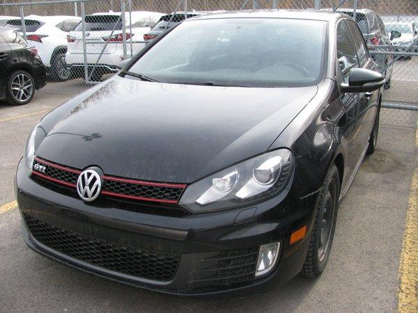Volkswagen Golf GTI Autobahn-Bluetooth-Toit Ouvrant-MAG 18po-A/C Auto 2012
