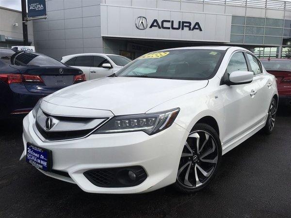 2016 Acura ILX ASPEC   NAVI   SUEDE   2.9%   OFFLEASE   FWD