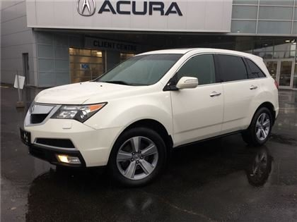 2012 Acura MDX TECH   DVD   NAVI   1OWNER   TINT   LEATHER
