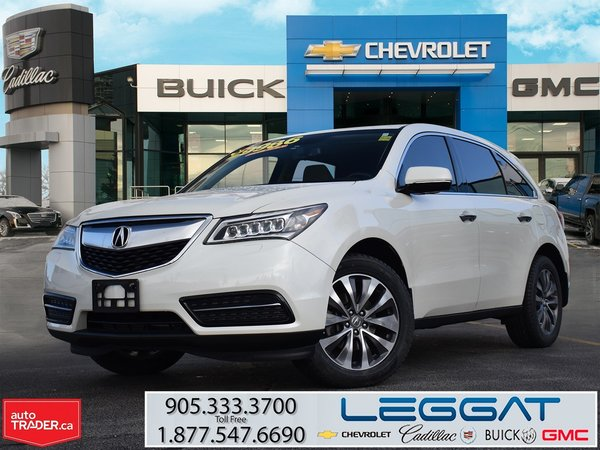 2015 Acura MDX NAVIGATION PACKAGE/AWD
