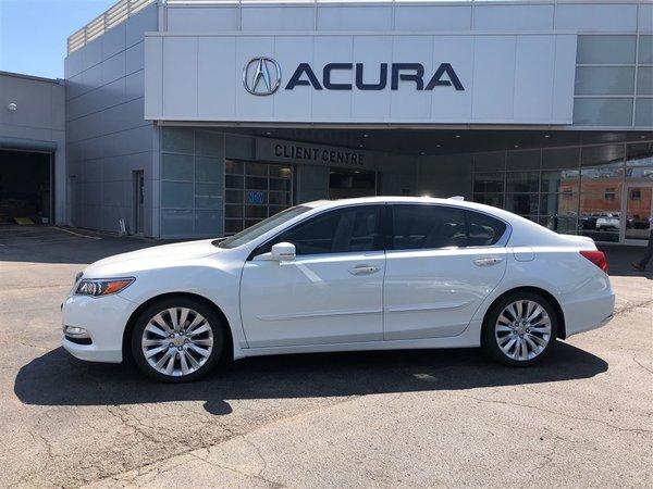 2014 Acura RLX ELITE   OFFLEASE   310HP   3.4%   NAVI