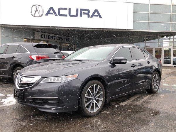 2015 Acura TLX TECH   NAVI   3.3%   TINT   1OWNER   290HP
