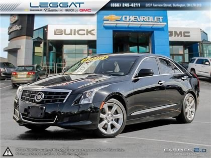 used 2014 cadillac ats 2 0l turbo manual has travelled 66 718 km for rh lag ca Cadillac CUE Pandora Cadillac CUE App Store