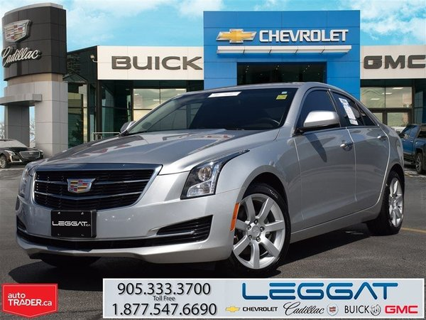 2015 Cadillac ATS 2.5L/CADILLAC CERTIFIED PRE-OWNED