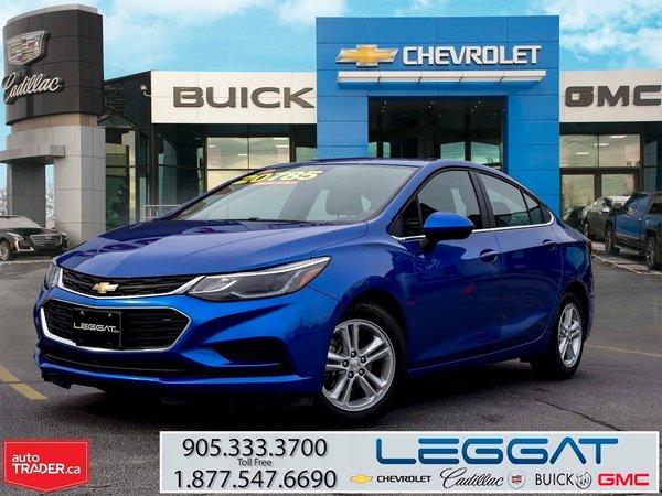 2018 Chevrolet Cruze LT TECHNOLOGY & CONVENIENCE PKG./SUNROOF