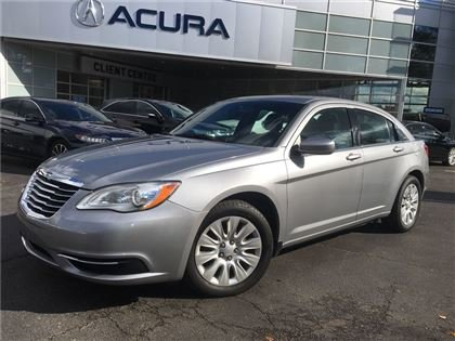 2013 Chrysler 200 LX   1OWNER   NOACCIDENTS   4CYL   FWD