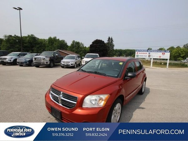 2010 Dodge Caliber SXT  LOW, LOW KMS, AS-IS SPECIAL