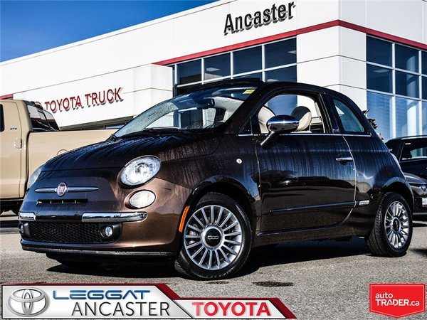 2012 Fiat 500C Lounge ONLY 49076 KMS!!