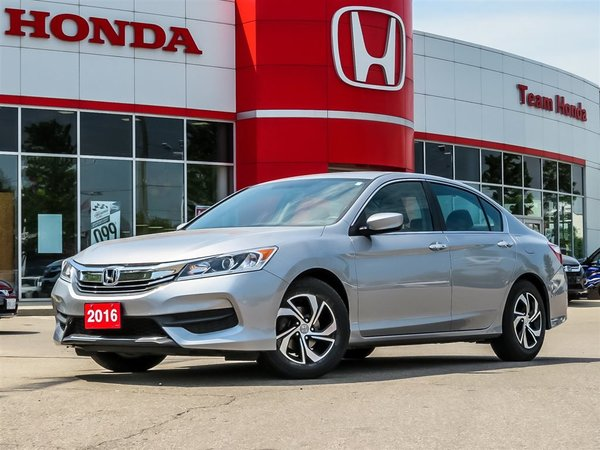2016 Honda Accord Sedan LX..PREVIOUS U.S.