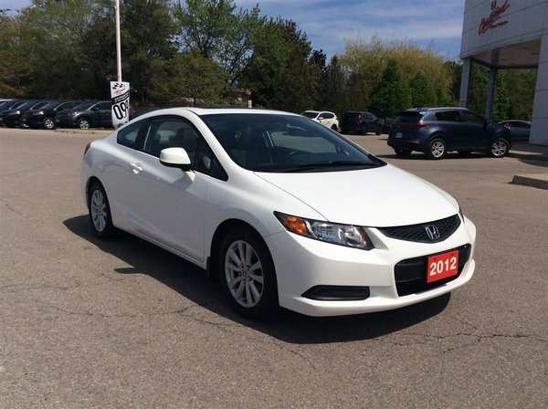 2012 Honda Civic Coupe EX..ONE OWNER