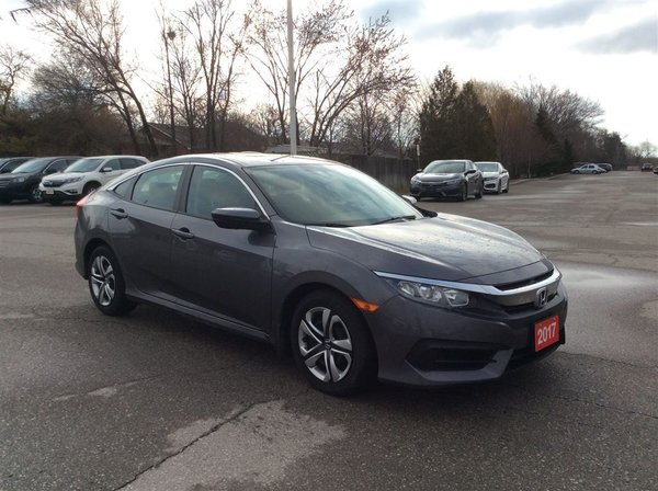 2017 Honda Civic Sedan LX..accident free..